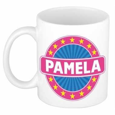 Feest namen koffiemok theebeker pamela 300 ml