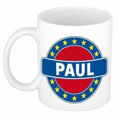 Feest namen koffiemok theebeker paul 300 ml