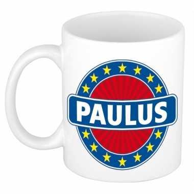 Feest namen koffiemok theebeker paulus 300 ml
