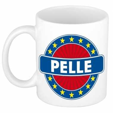 Feest namen koffiemok theebeker pelle 300 ml