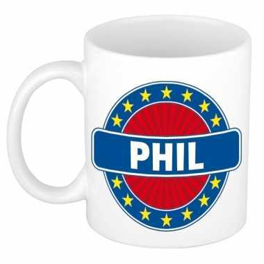 Feest namen koffiemok theebeker phil 300 ml