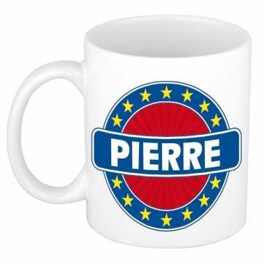 Feest namen koffiemok theebeker pierre 300 ml