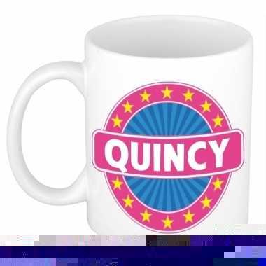 Feest namen koffiemok theebeker quincy 300 ml 10110687