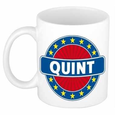 Feest namen koffiemok theebeker quint 300 ml