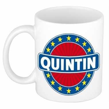 Feest namen koffiemok theebeker quintin 300 ml