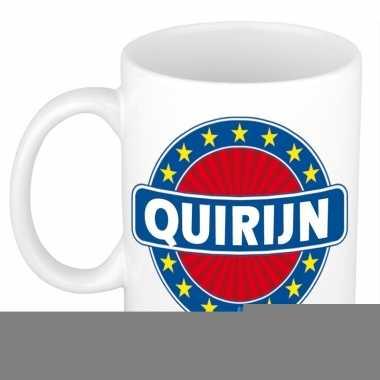 Feest namen koffiemok theebeker quirijn 300 ml