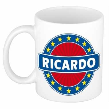 Feest namen koffiemok theebeker ricardo 300 ml