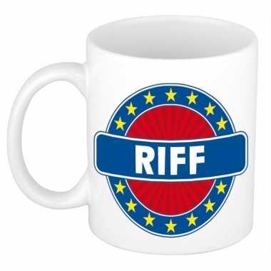 Feest namen koffiemok theebeker riff 300 ml