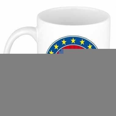 Feest namen koffiemok theebeker riv 300 ml