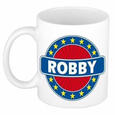 Feest namen koffiemok theebeker robby 300 ml