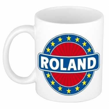 Feest namen koffiemok theebeker roland 300 ml