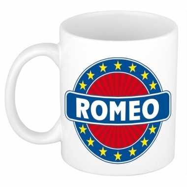 Feest namen koffiemok theebeker romeo 300 ml