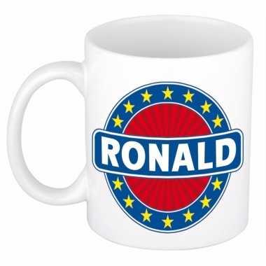 Feest namen koffiemok theebeker ronald 300 ml