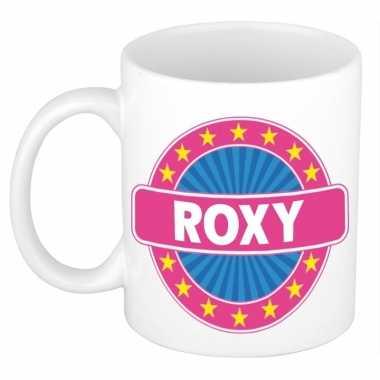 Feest namen koffiemok theebeker roxy 300 ml