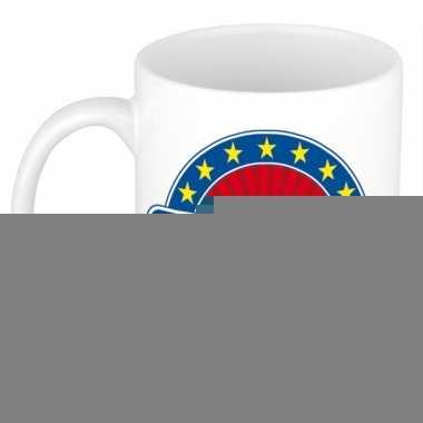 Feest namen koffiemok theebeker ruby 300 ml