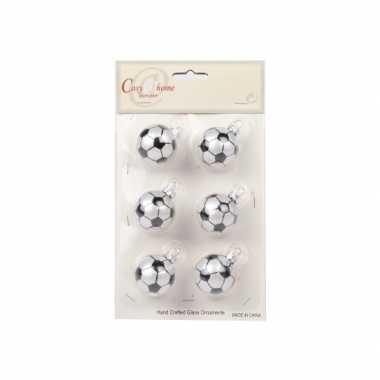 Feest onbreekbare voetbal kerstballen 10068195