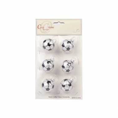 Feest onbreekbare voetbal kerstballen 10068196