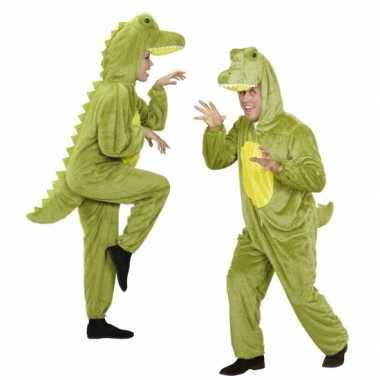 Feest onesie dierenpakken krokodil