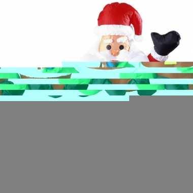 Feest opblaasbare kerstman 122 cm