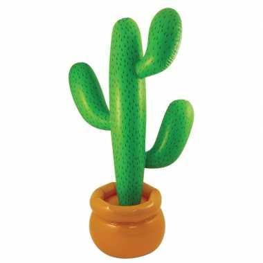 Feest opblaasbare mega cactus 170 cm