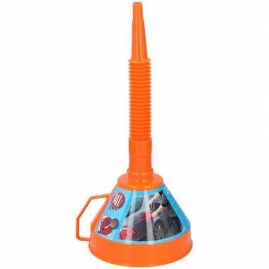 Feest oranje trechter van plastic