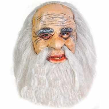 Feest oude mannen masker rubber