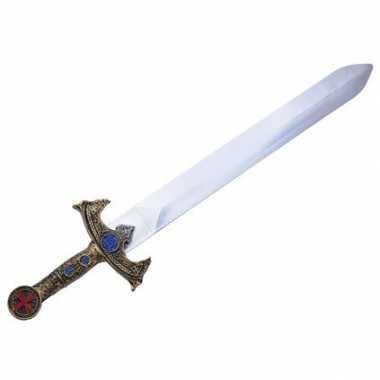 Plastic ridder zwaarden goud
