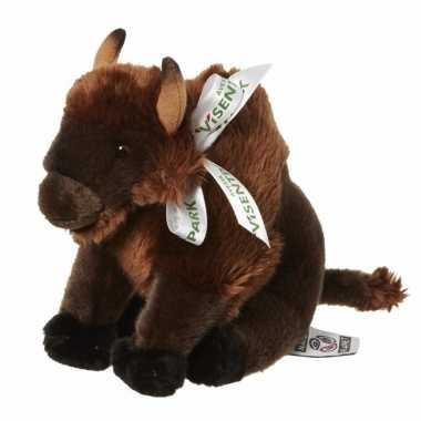 Feest pluche bizon knuffeldiertjes 18 cm