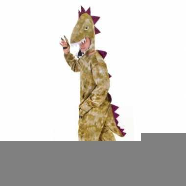 Feest pluche dinosaurus outfit volwassenen