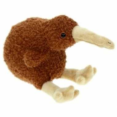 Feest pluche kiwi vogel knuffel 19 cm