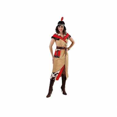 Feest pocahontas kostuum voor dames