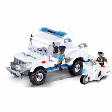 Politie speelgoed wagen