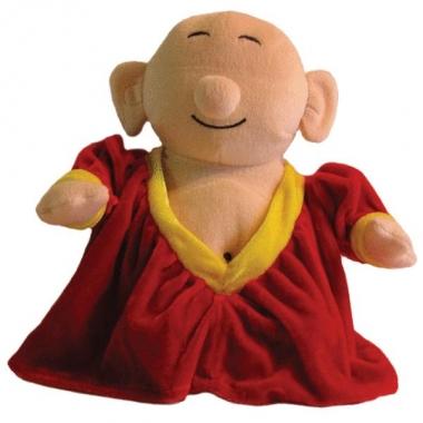 Feest pop van bekende ster 20 cm boeddha
