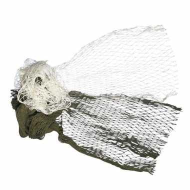 Feest rayher vissersnetten naturel 60 x 125 cm