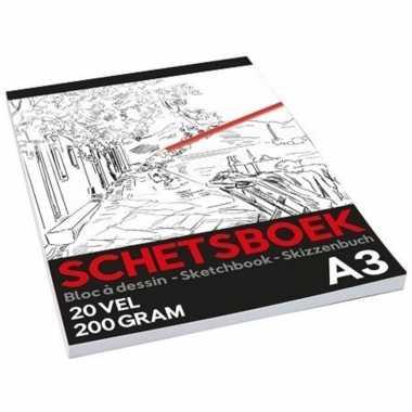 Schetsboek/tekenboek a3 formaat