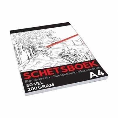 Schetsboek/tekenboek a4 formaat