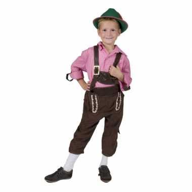 Feest schlager kostuum voor kinderen