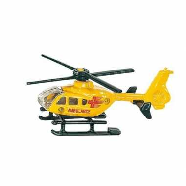 Feest siku ambulance helikopter