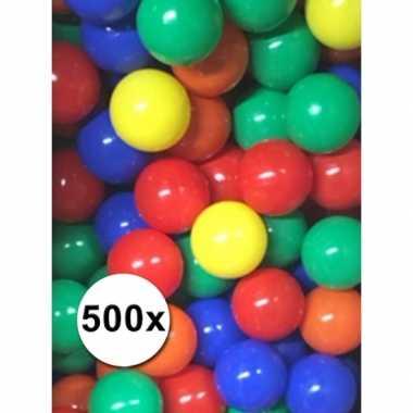 Feest speelballen voor in de ballenbak
