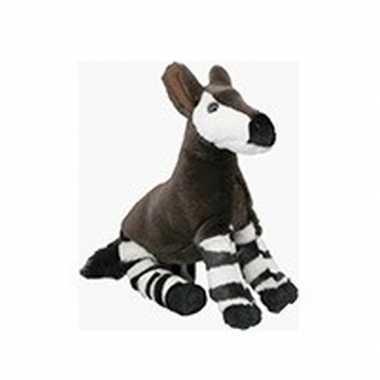 Feest speelgoed artikelen okapi knuffelbeest 18 cm