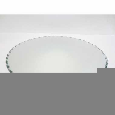 Feest spiegel kaarsenborden 25 cm