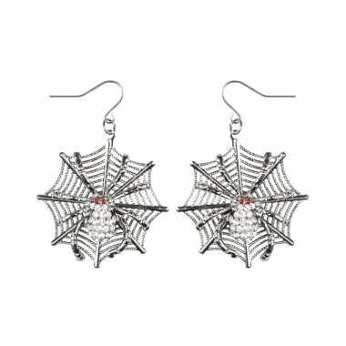 Spinnen heksen oorbellen voor dames