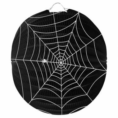 Feest spinnenweb lampion 22 cm