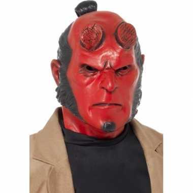 Feest stripfiguur hellboy masker