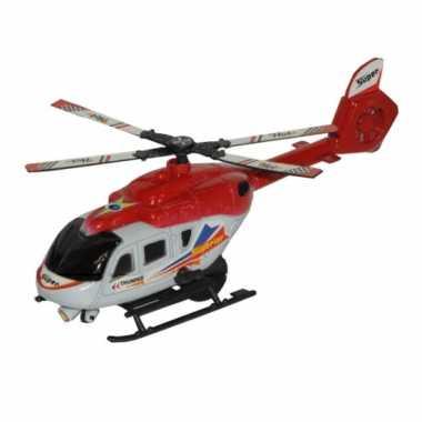 Feest thunder superior rode speel helikopter 21 cm