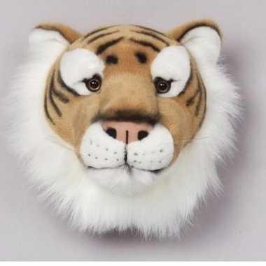 Feest tijgerkop voor aan de muur