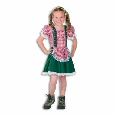 Feest tiroler kostuum voor meisjes