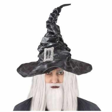 Tovenaars verkleed hoed zwart voor volwassenen