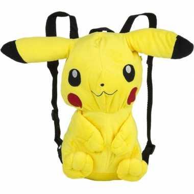 Feest verkleed rugtas pikachu