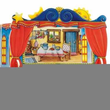 Feest vingerpoppen theater 28 x 20 cm